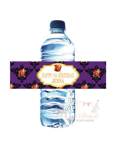 DISNEY DESCENDANTS - PRINTABLE WATER BOTTLE LABELS