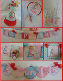 VINTAGE  - BASIC - 1ST BIRTHDAY PARTY PACKAGE