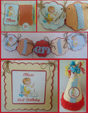 VINTAGE - PETITE - 1ST BIRTHDAY PARTY PACKAGE