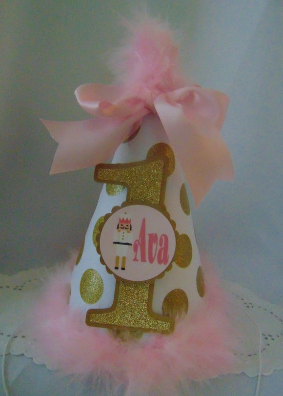 NUTCRACKER BIRTHDAY PARTY HAT