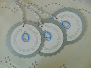CINDERELLA FAVOR TAGS