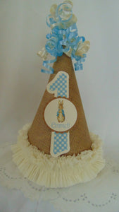 PETER RABBIT BIRTHDAY PARTY HAT