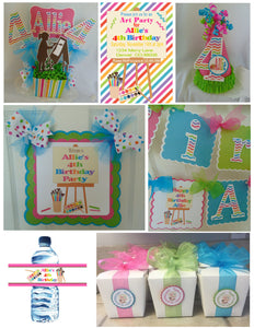 ART PARTY ULTIMATE BIRTHDAY PARTY PACKAGE