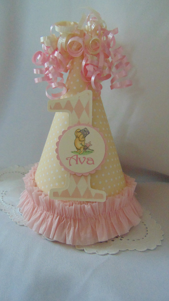 WINNIE THE POOH AND PIGLET - PARTY HAT