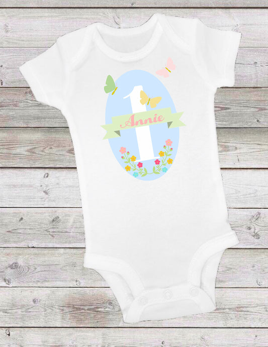 BUTTERFLY KISSES -  ONESIE OR T-SHIRT