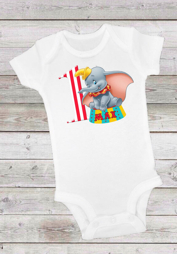 DUMBO - BIRTHDAY ONESIE OR TSHIRT