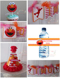 ELMO HAPPY BIRTHDAY PARTY PACKAGE