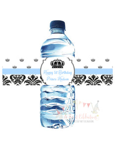 PRINCE WATER BOTTLE LABELS