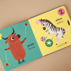 ABC French Board Book