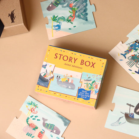Animal Adventures Story Box - Games - pucciManuli