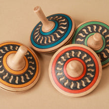 Load image into Gallery viewer, Arabesk Wooden Spinning Top - Spinning Tops/Yo-Yos - pucciManuli