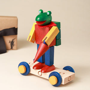 Croaky Frog Replica | Steck Figure Set - Building/Construction - pucciManuli