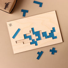 Load image into Gallery viewer, Dolphin Pentomino Puzzle - Puzzles - pucciManuli