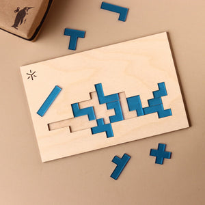 Dolphin Pentomino Puzzle - Puzzles - pucciManuli