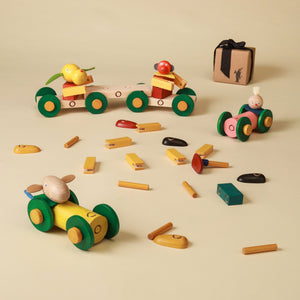 Drive Steck Figure Set - Building/Construction - pucciManuli