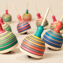 Load image into Gallery viewer, Fridolin Wooden Spinning Top - Spinning Tops/Yo-Yos - pucciManuli