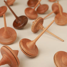 Load image into Gallery viewer, Ibis Wooden Spinning Top - Spinning Tops/Yo-Yos - pucciManuli