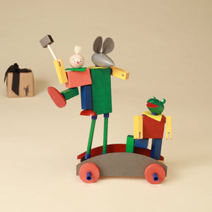 Merry Bachelors Steck Figure Set - Building/Construction - pucciManuli