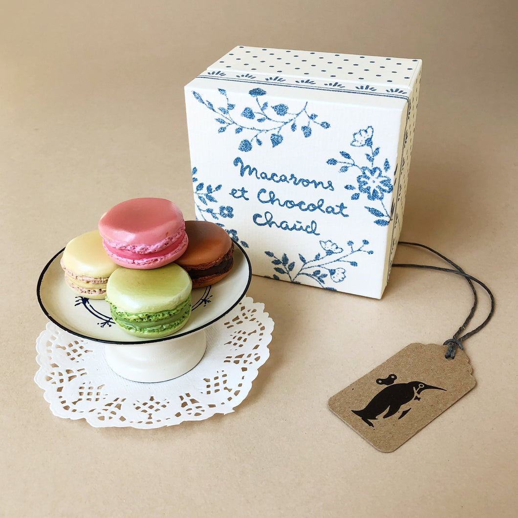 Pretend Play Accessories | Mini Macarons & Chocolate Chaud - Dolls & Doll Accessories - pucciManuli
