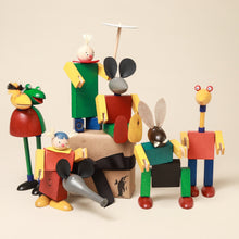 Load image into Gallery viewer, Rollicking Family Steck Figure Set - Building/Construction - pucciManuli