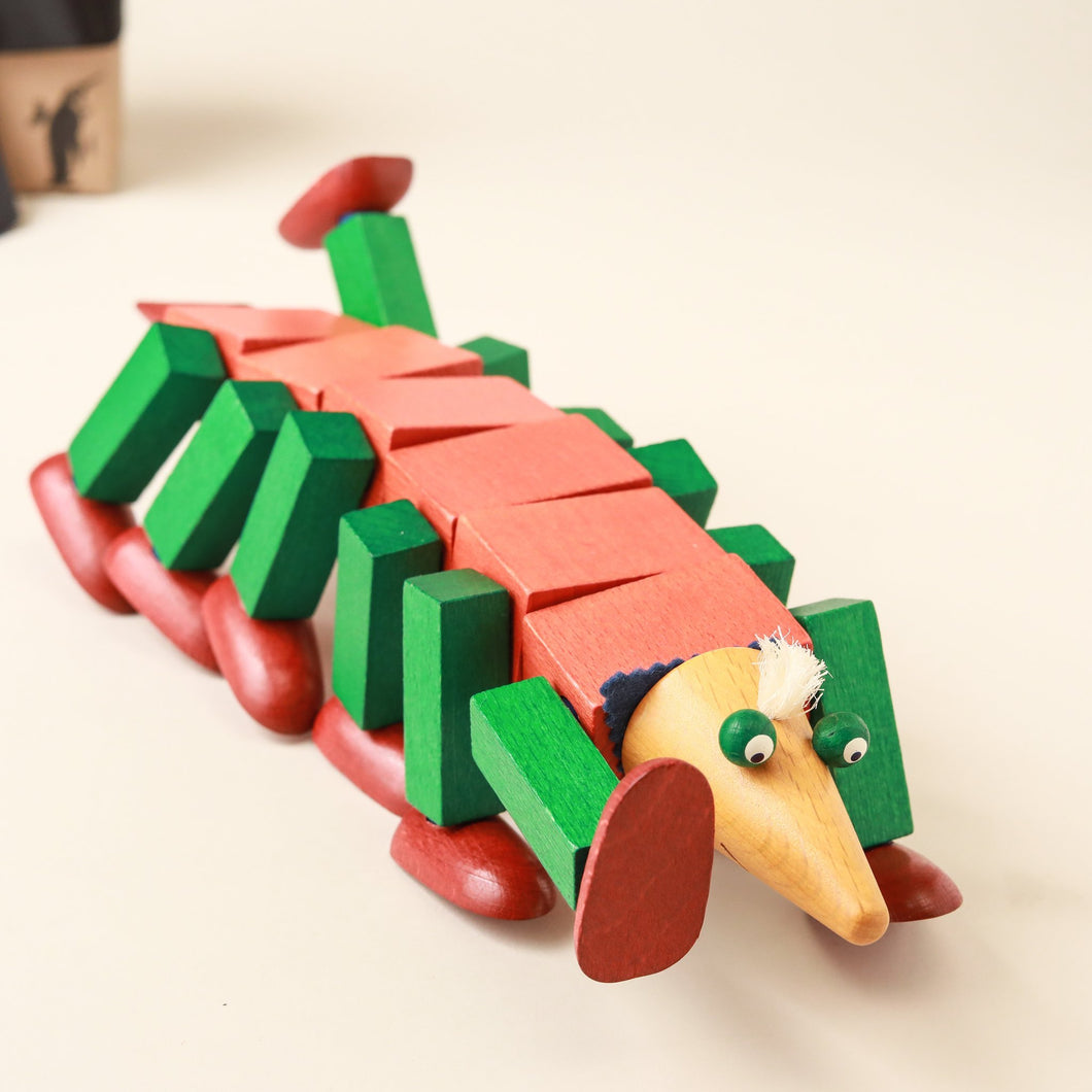 Storm Worm Willi Steck Figure - Building/Construction - pucciManuli