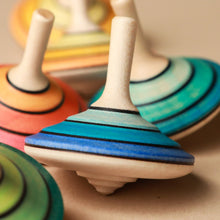 Load image into Gallery viewer, Tango Wooden Spinning Top | Small - Spinning Tops/Yo-Yos - pucciManuli