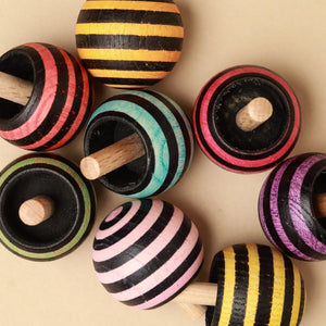 Upside-Down Wooden Spinning Top | Tango - Spinning Tops/Yo-Yos - pucciManuli