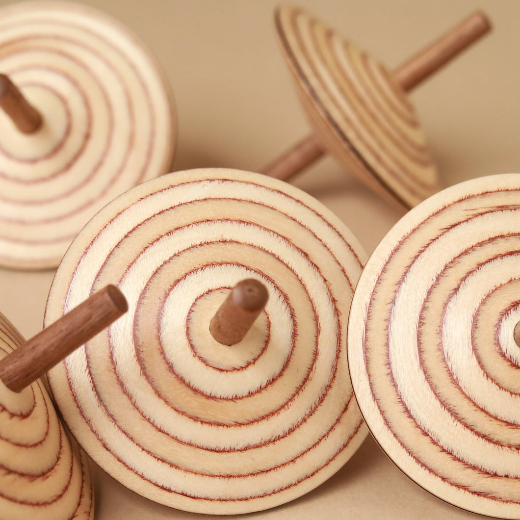 Wendelin Wooden Spinning Top - Spinning Tops/Yo-Yos - pucciManuli