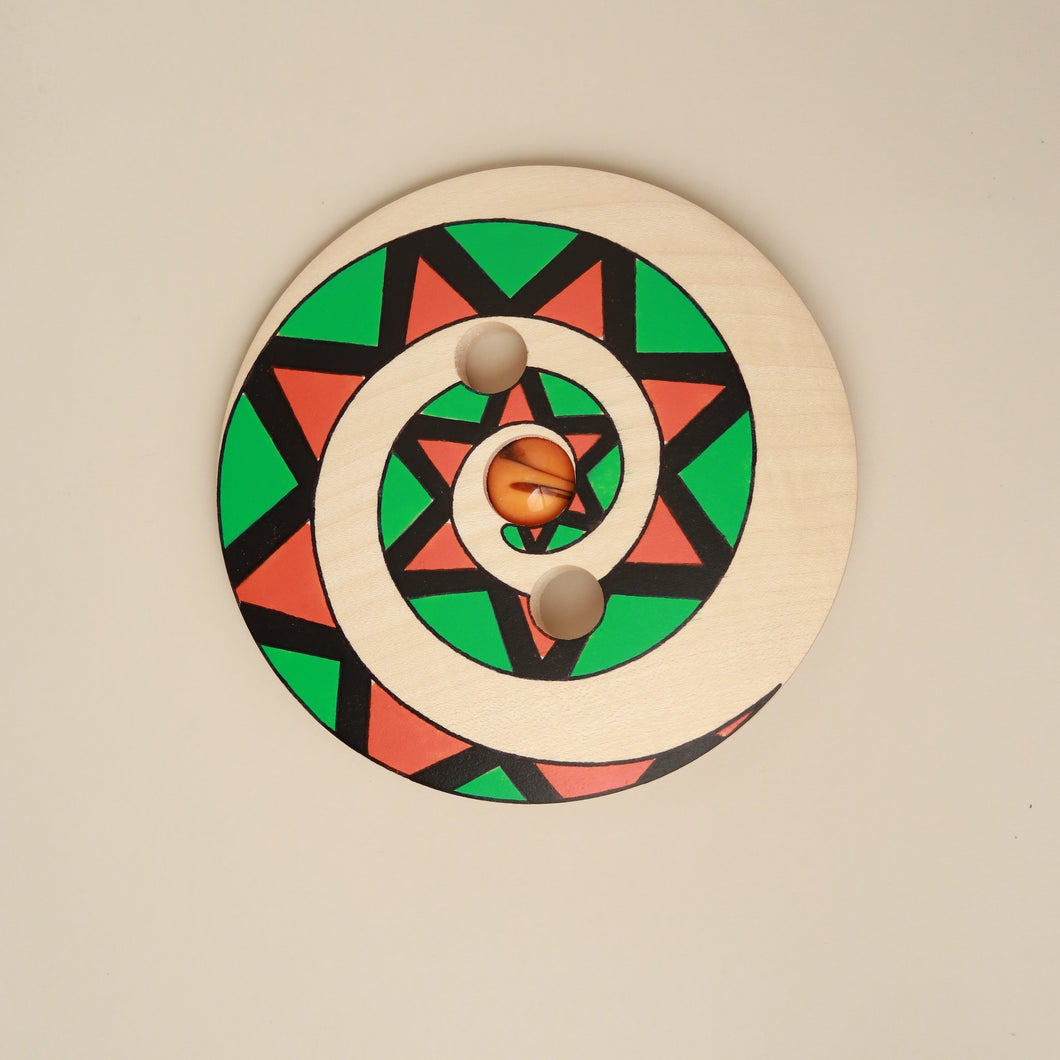 Wooden Spinning Disc | Triangle - Spinning Tops/Yo-Yos - pucciManuli