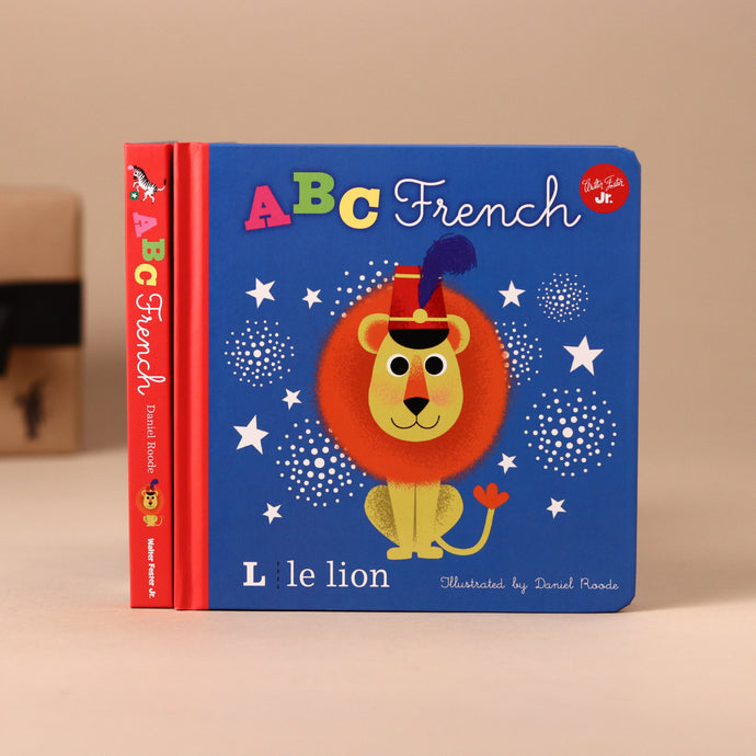 ABC French Board Book - Books (Baby/Board) - pucciManuli