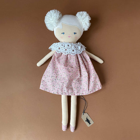 aggie-doll-with-white-hair-posy-pink-dress-with-lace-collar