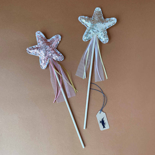 Amelie Star Wand | Sequin - Pretend Play - pucciManuli