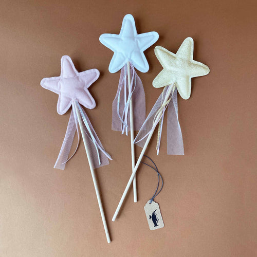 Amelie Star Wand - Pretend Play - pucciManuli