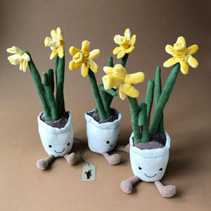 Amuseable Daffodil - Stuffed Animals - pucciManuli