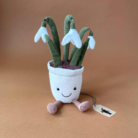 Amuseable Snowdrop Plant - Stuffed Animals - pucciManuli