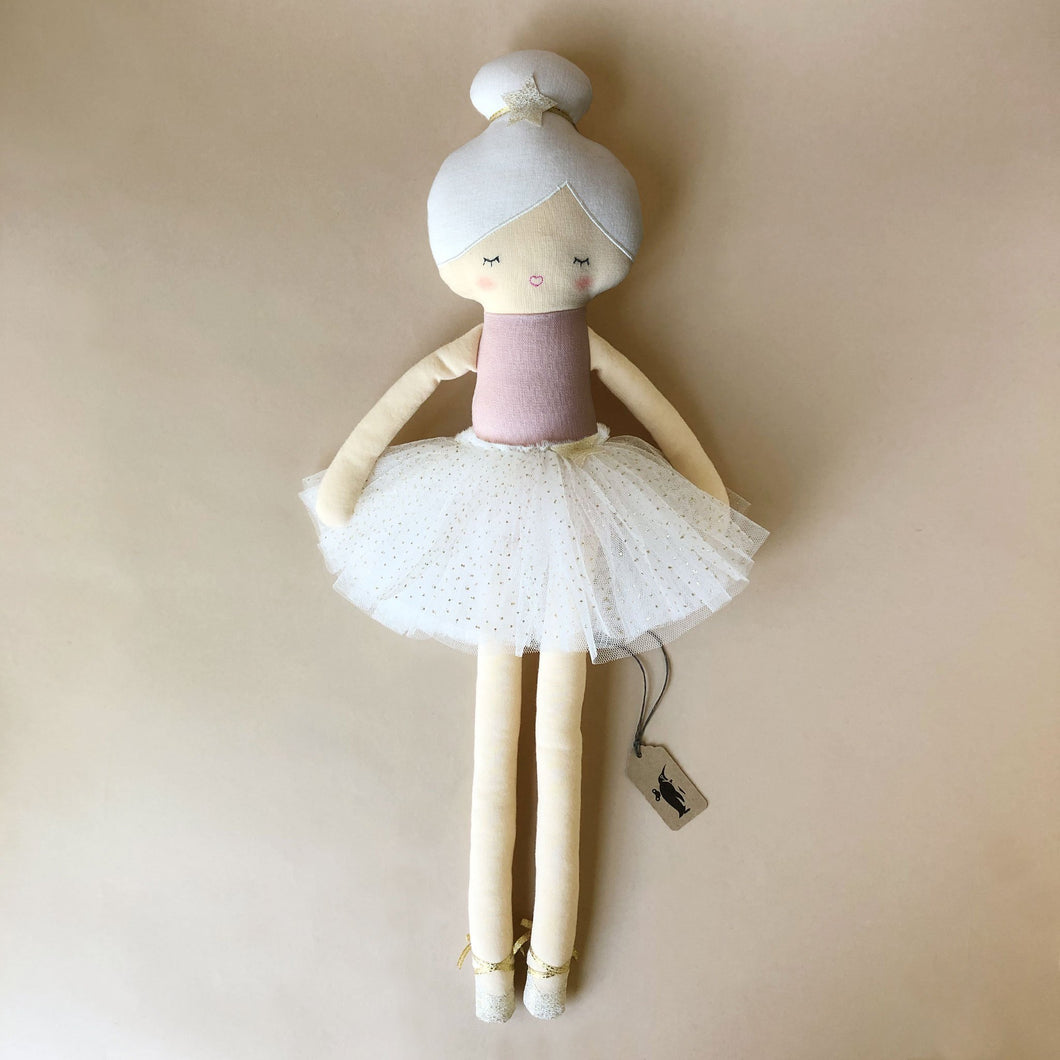 arabella-ballerina-with-white-tutu-pink-leotard-and-white-hair