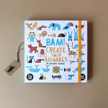Load image into Gallery viewer, Bam! Stamp Set | Create Your Animals - Arts & Crafts - pucciManuli