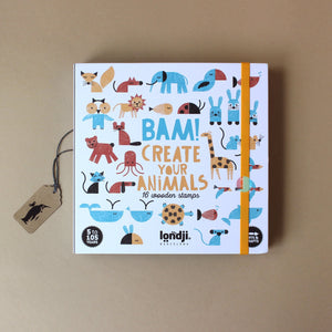 Bam! Stamp Set | Create Your Animals - Arts & Crafts - pucciManuli