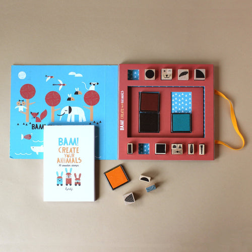 bam-create-your-own-animal-stamps-with-four-ink-pads-and-instruction-book