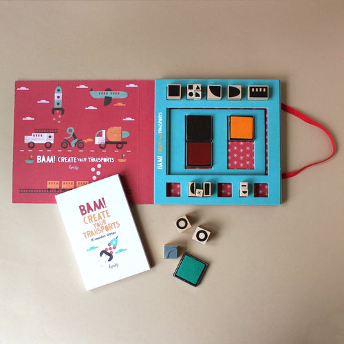 Bam! Stamp Set | Create Your Transportation - Arts & Crafts - pucciManuli