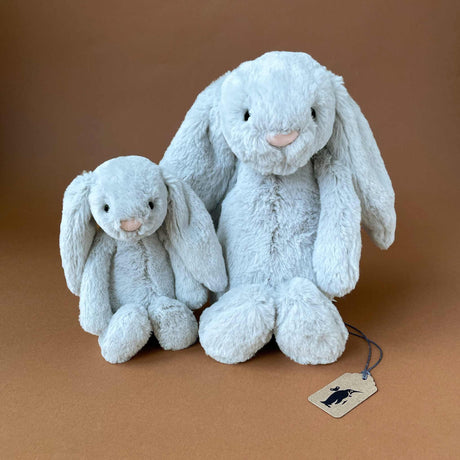 Bashful Bunny | Grey - Stuffed Animals - pucciManuli