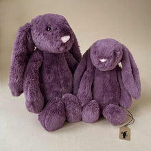 Load image into Gallery viewer, Bashful Bunny | Plum - Stuffed Animals - pucciManuli