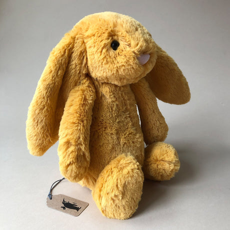 Bashful Bunny | Saffron - Medium - Stuffed Animals - pucciManuli