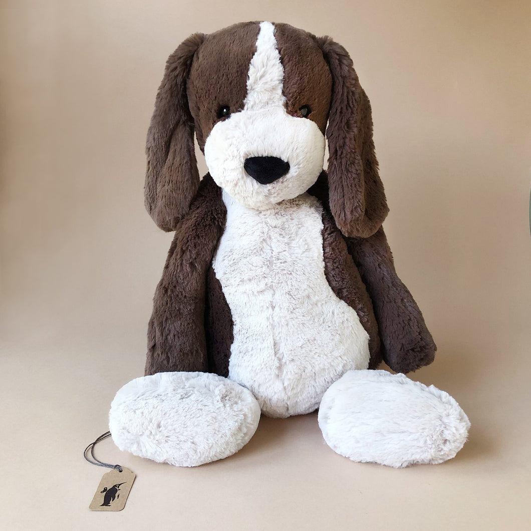 Bashful Fudge Puppy - Stuffed Animals - pucciManuli
