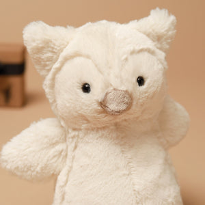 Bashful Owl - Stuffed Animals - pucciManuli