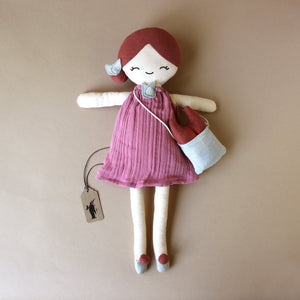 Organic Cotton Berry Doll - Dolls & Doll Accessories - pucciManuli
