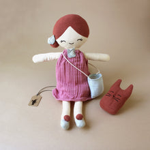 Load image into Gallery viewer, Organic Cotton Berry Doll - Dolls & Doll Accessories - pucciManuli
