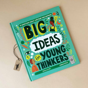 big-ideas-for-young-thinkers-book-cover-green-with-various-illustrations-and-title-text