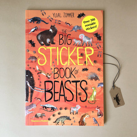 Big Sticker Book of Beasts - Books (Children's) - pucciManuli
