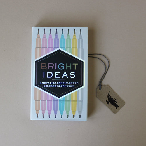 Bright Ideas Double Ended Metallic Brush Pens - Arts & Crafts - pucciManuli